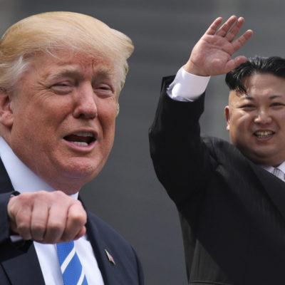 Llegan Trump y Kim Jong-un a Singapur; atento el mundo a un encuentro que podría salir mal