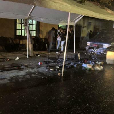 Irrumpe comando armado en velorio; mata a dos y hiere a ocho en Guadalajara