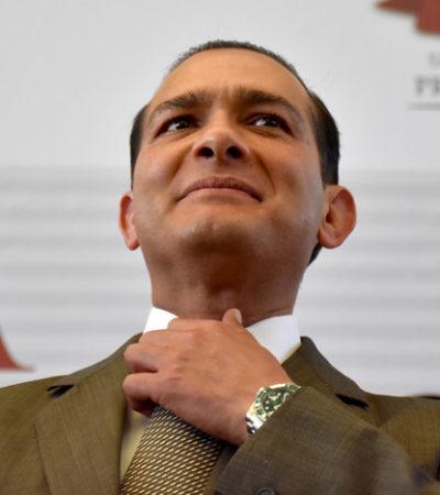 Protestan familias de desaparecidos en Veracruz ante suspensión de orden de aprehensión a ex Fiscal de Duarte