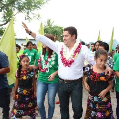 Balean vivienda de candidato 'verde' a la alcaldía de Carranza en Chiapas