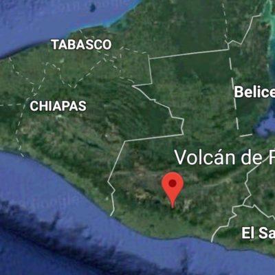 Temen llegada de ceniza volcánica a Chetumal