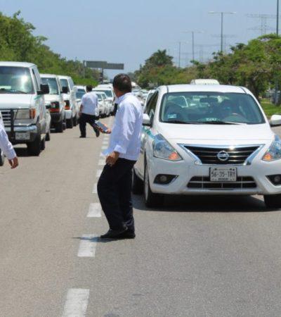 """""""Sancionarán a taxistas que participaron en bloqueos y no estén al día con su concesión"""", dice William Conrado Alarcón"""