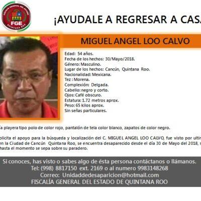 Confirman desaparición de funcionario del Ayuntamiento de BJ y representante del PRI ante el INE en el Distrito 04