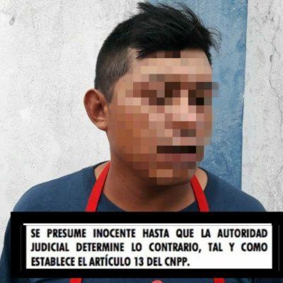 Detienen a hombre en Chetumal con 15 piezas de 'piedra'