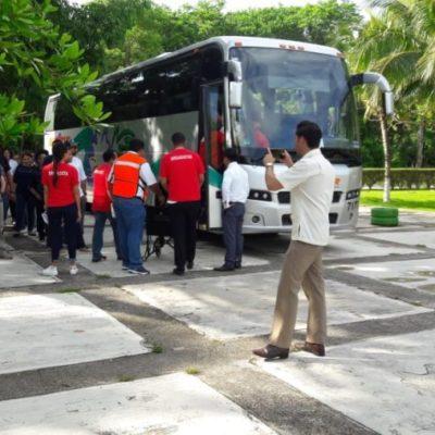 Por segunda vez en la Riviera Maya, hotel Paradisus realiza simulacro en caso de huracán; participaron más de mil 500 empleados
