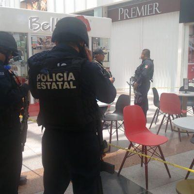Intento de asalto en joyería de Plaza Las Américas en Cancún