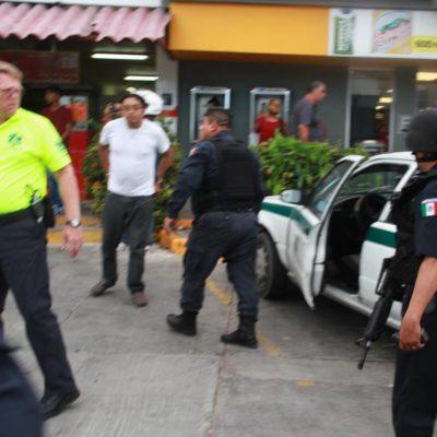 Muere en el hospital el taxista baleado ayer sobre a Avenida Uxmal de Cancún