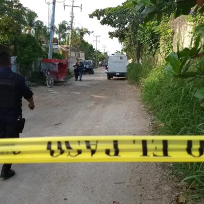 EJECUTAN A COMERCIANTE EN EL PEDREGAL: Matan a balazos a hombre de 67 años en colonia irregular de Cancún