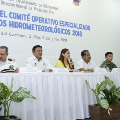 Instalan Comité Operativo Especializado en Fenómenos Hidrometeorológicos en Solidaridad