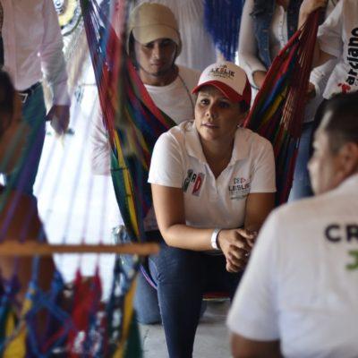 Trabajo coordinado, propone Leslie Hendricks, para desarrollar más Quintana Roo