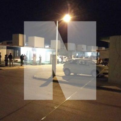 BALEAN A DOS TAXISTAS EN PUERTO MORELOS: El ataque ocurrió afuera de un domicilio en Villas Playas