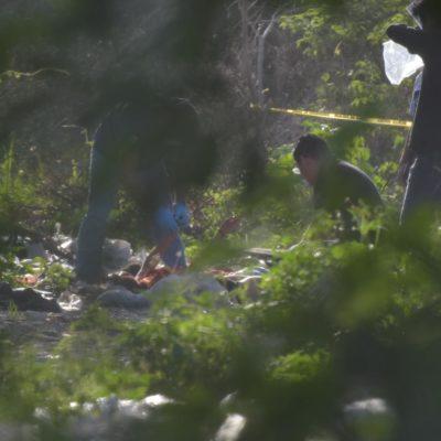 EMPIEZA EL JUEVES CON DOBLE EJECUCIÓN DE MUJERES: Hallan dos cuerpos en un camino de terracería entre las colonias irregulares Tres Hermanos e Indio Blanco de Cancún