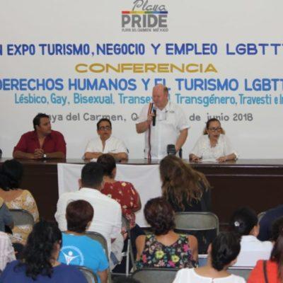 Piden a policías respetar derechos humanos de comunidad LGBT en Playa del Carmen