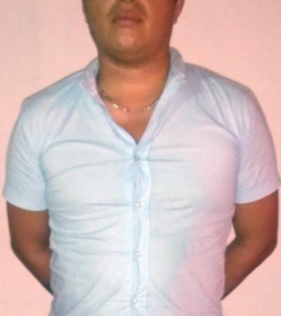 Detienen a hombreacusado de robo en la SM 63 de Cancún