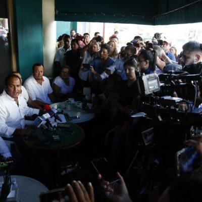"""""""ESTÁN CAYENDO EN LA DESESPERACIÓN Y EN LA VIOLENCIA"""": Juan Carrillo dice que detrás de ataque a balazos contra candidata ayer en Isla Mujeres está abanderado """"que ya se ve perdido en el proceso electoral"""""""