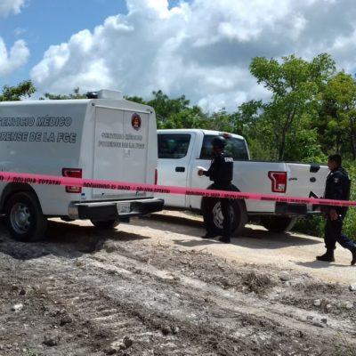 DOBLE EJECUCIÓN EN EL LIBRAMIENTO DE LA AUTOPISTA CANCÚN-MÉRIDA: Reporte de un embolsado permitió descubrir dos cadáveres en la periferia de la ciudad