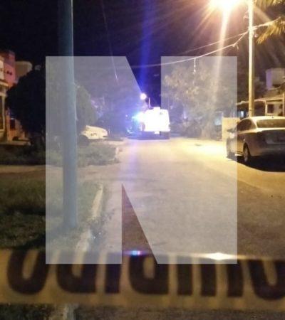 ATACAN A BALAZOS A PADRE E HIJO ENLA REGIÓN 247: Muere joven de 19 años y queda herido su progenitor en Cancún