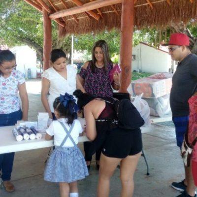 Siguen recolectando víveres para Guatemala en DIF de Solidaridad