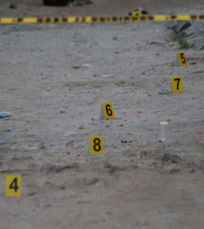 SEGUIMIENTO | SUMAN 4 MUERTOS EN LA BALACERA DE AYER POR RANCHO VIEJO: Mueren en el hospital tres personas tiroteadas en la colonia San Alfredo de Cancún