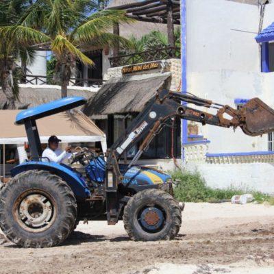 Solidaridad podrá limpiar 10.6 kilómetros de costa con recursos del Fonden; en menos de una semana iniciarán la recoja masiva de sargazo