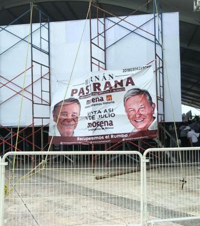 NUEVA QUEJA DEL PES CONTRA CANDIDATOS DE MORENA: Pide sancionar que aspirantes a Alcaldes hagan uso de la imagen de AMLO