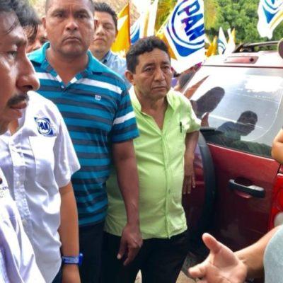 Víctor Mas se compromete a trabajar por un Tulum seguro y en paz