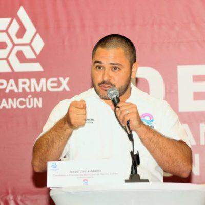 """""""Los recursos para Seguridad Pública han sido secuestrados por los partidos políticos para hacer negocios"""", denuncia Issac Janix"""