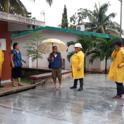 Habilitan refugios en Tulum