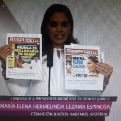 Rompeolas: Mara Lezama y el 'oso' del debate de candidatos por Cancún