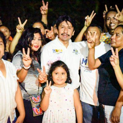 Anticipan cierre masivo de campaña de Víctor Mas en Tulum