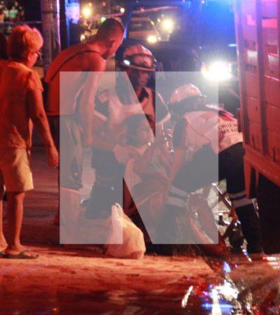 Balean a una mujer embarazada en la Región 91 de Cancún