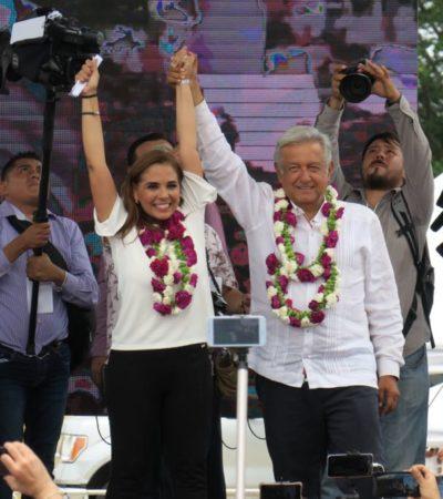 AMLO CIERRA CAMPAÑA EN CANCÚN: Aboga candidato de Morena por una 'policía especial' para centros turísticos