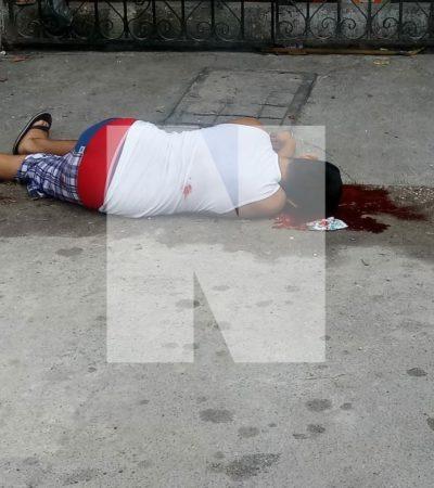 TERCER EJECUTADO DEL DÍA EN CANCÚN: Matan a balazos a un hombre, otra vez en la Región 103