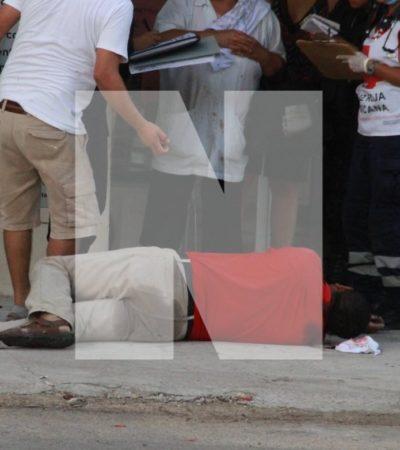 EJECUTAN A CONDUCTOR DE CAMIONETA EN CANCÚN: Asesinan a un hombre en la Región 97, el cuarto caso del día
