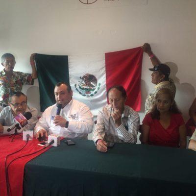 """""""VAMOS A DIFERENCIAR EL VOTO AQUÍ EN CANCÚN"""": Morenistas dejan a Mara Lezama y suman votos para Eloy Peniche"""