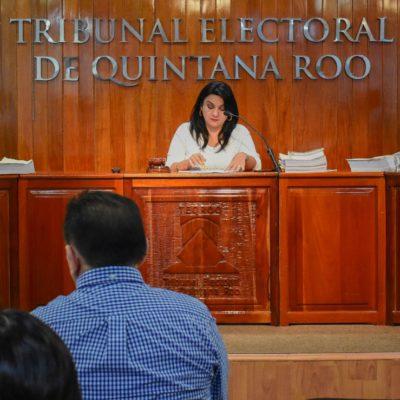 Confirma Teqroo acuerdos del Ieqroo sobre prohibición a candidatos para usar imagen de AMLO