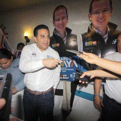 """""""CREO QUE POLÍTICAMENTE ESTÁ APOYANDO SIN DUDA ALGUNA AL 'FRENTE': Mara Lezama no es candidata de Carlos Joaquín, dice Damián Zepeda en Cancún"""