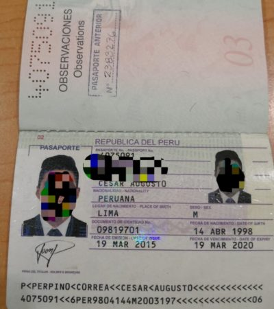 GATOS HACIÉNDOSE PASAR POR LIEBRES: Ecuatorianos con pasaporte peruano son detenidos en Aeropuerto Internacional de Cancún