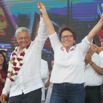 Laura Beristain asegura que todos los mexicanos ganarán este 1 de julio con AMLO