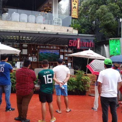 Partido México-Alemania desata bonanza restaurantera… antes del 1-0 del Tri
