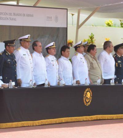 La Armada de México es honrada por Gobierno de Benito Juárez