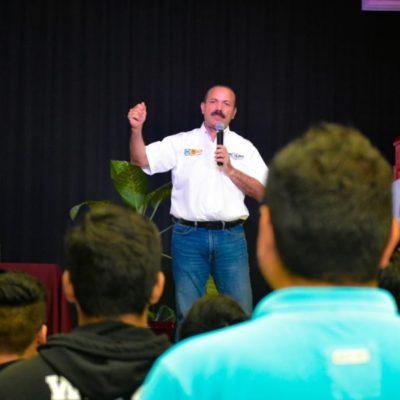 Julián Ricalde tiene como prioridad política el abatir la desigualdad económica