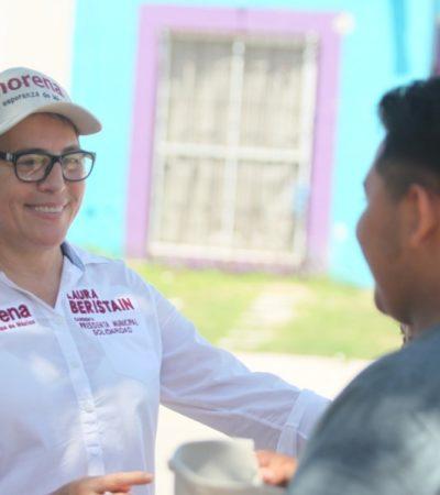 Dice Laura Beristaín que pondrá fin a abusos de Aguakan