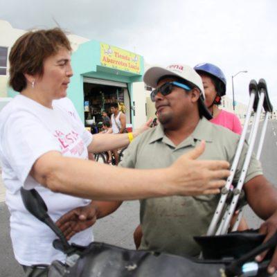 'Abuelitos' y personas con discapacidad formarán parte del gobierno incluyente de Laura Beristaín, asegura