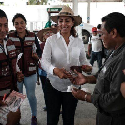 Marybel Villegas se propone rescatar del olvido a Puerto Juárez