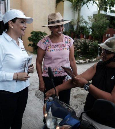 Marybel Villegasbuscará que en Quintana Roo haya una policía mejor pagaday más capacitada