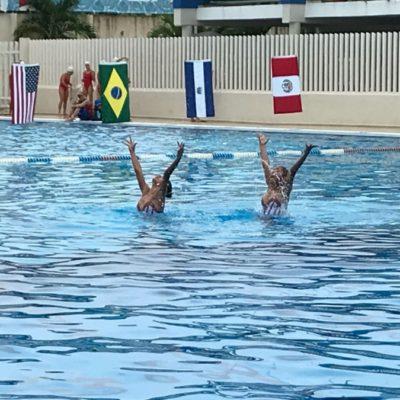 Las sirenas del Cancún Open 2018 de Synchro desafían mal clima y fallas de luz
