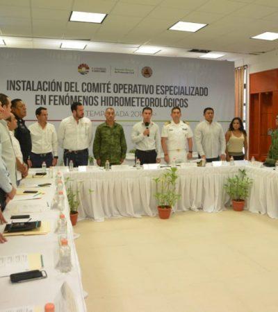 INSTALAN COMITÉ: Cancún se encuentra preparado para afrontar la temporada de huracanes
