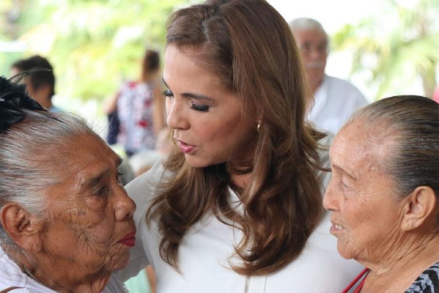 Mara Lezama hace suyas las demandas de los adultos mayores de Cancún