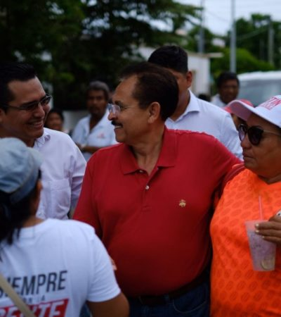 """LLUVIA DE QUEJAS EN LA COLONIA EJIDAL POR INSEGURIDAD: La violencia """"duele, lastima y da coraje"""", dice Martín de la Cruz"""